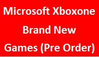 Brand New Games (Pre Order)