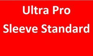 Ultra Pro Sleeve (Standard)