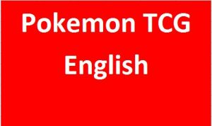 Pokemon TCG (English)