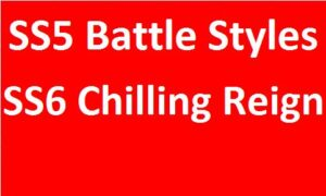 SS5 Battle/SS6 Chilling