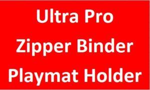 Ultra Pro/Zipper Binder/Holder